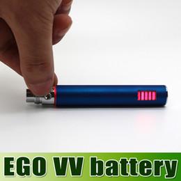 ¡¡¡Más vendido!!! Batería recargable de Ego VV batería de voltaje variable ego-V Batería para cigarrillo electrónico de la serie de Ego goodwillbiz desde serie ego recargable fabricantes
