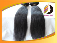 Wholesale 100 Brazilian Virgin Hair silky straight g inch Natural color Human Hari weft unprocessed hair extension