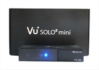 Wholesale 10pcs mini Vu Solo2 mini HD Twin Tuner Linux DVB S S2 tuner PVR LAN USB Satellite Receiver hd enigma mini vu solo FreeShipping
