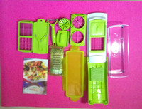 Wholesale 24Pcs Best Good High quality Nicer Dicer Plus Vegetables Fruits Dicer Food Slicer Cutter Containers Chopper Free Shippng