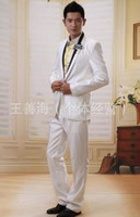 Men Pant Suit Formal men groom wedding white suit custom made suits for men best slim fit suits for men high qualtity Includes pant shirt belt tie