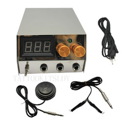 Wholesale Profession Stainless Steel Digital Tattoo Power Supply