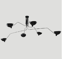 Wholesale Serge Mouille Pole Pendent Lights Modern Serge Mouille Sabre Rattling Swing Duckbill Ceiling Lamps amp Wall Lamps