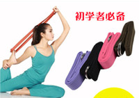 Wholesale 6pcs Resistance Fitness Bands Tube Workout Exercise for Yoga Sport Bands Colors L654