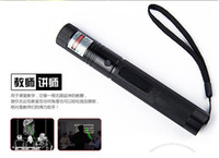 Wholesale mw nm green Laser Pointer Pen Visible Beam Cigarette Lighter Star Command with battery charger box