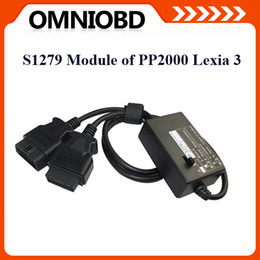 Free Shipping S.1279 S1279 Interface Module Professional for Lexia 3 PP2000 Citroen Peugeot Express DHL Free