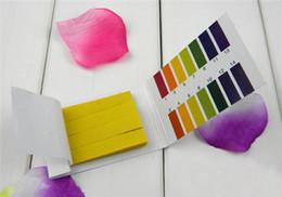 Wholesale HOT PH Test Paper Strips Indicator Test Strips Litmus Tester Urine amp Saliva S561