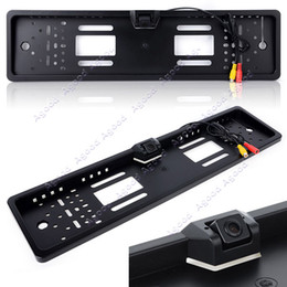 Wholesale license plate frame Waterproof Shockproof car Reverse rearview camera degree
