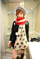 Cheap 2014 autumn and winter yarn cashmere scarf national flag lengthen scarf Freeshipping
