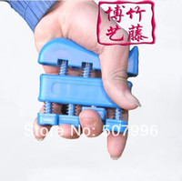 Wholesale Guitar Bass Piano Hand Finger Exerciser Trainer fingers training device Recover finger Hand Grip Trainer D