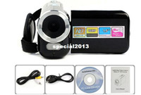 Wholesale 1 quot TFT LCD MP HD P Digital Video Camcorder Camera x Digital ZOOM DV BK Freeshipping