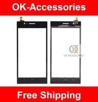 Cheap 100% High Quality Touch Panel Touch Screen Digitizer For Lenovo K900 1PC Lot Free Shipping