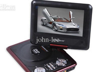 Wholesale Hot DVD VCD player inch portable dvd player CD player with game TV