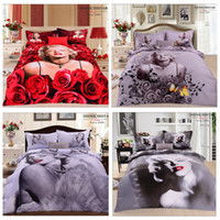 100% Cotton Machine washable Woven FREE SHIPPING- 3d Marilyn Monroe bedding sets 2014 new Custom Made Queen king UK USA size FACTORY OEM MANUFACTURER