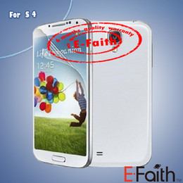 Wholesale LCD Clear Front Screen Protector Film Cleaning Cloth For Samgsung S4 i9500