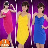 Wholesale Summer Models Harness Beach Dresses Silk Beach Towels Sexy Sarongs Hot Sale