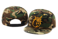 Wholesale THE HUNDREDS Snapbacks Camo Snapback Hats Fashion Snapback Caps Womens Mens Snap Backs Brand Snap Back Hip Hop Caps Mens Flat Hat Mix Order