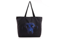 Shoulder Bags Women Galaxy Space Fashion Women Black Labrador Digital Pattern Galaxy Cosmos Space Zipper Handbag Shoulder Bag Shopping Bag Tote HB031 Support Mixed Batch