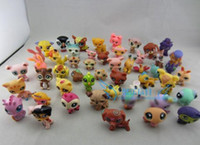 Wholesale Hasbro Toy New Arrival High Quality LPS Littlest Pet Shop Animals Figures Toys Girl s Best Gift Q Pet Action Figures c