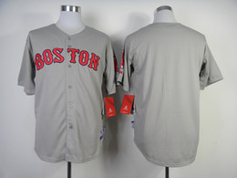 Wholesale Custom Made Baseball Jerseys Boston quot Red Sox quot Baseball Shirts High Quality Cheapest Personalized Baseball Uniforms for Sale Men Sport Clothe