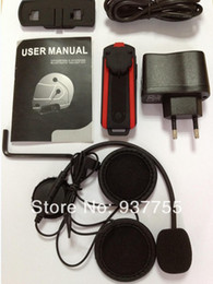 Wholesale The popular high quality m motorcycle BT bluetooth multi interphone headset helmet intercom newest