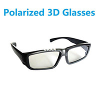 Wholesale Newest Brand Circular Polarized d Glasses for real d cinemas High quality RealD Polarized D glasses