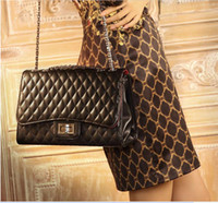 Wholesale New handbag Fashion Bags major suit Lingge embroider line chain can be telescopic cross body shoulder bags