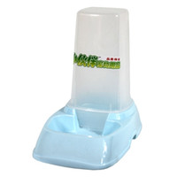 other Plastic other Dual dog bowl cat bowl automatic pet feeder water dispenser two-in-one