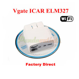 Wholesale ELM327 wifi Vgate iCar elm327 elm WIFI OBDII For iPhone iPad Android PC