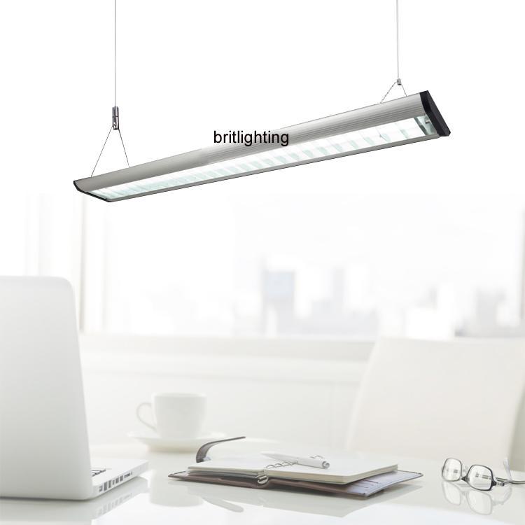 office pendant lighting. linear hanging office lighting aluminum grille comercial light t5 fluorescent industrial lights contemporary pendant lightings suspension i