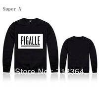 Wholesale New arrival long sleeve sweatshirt pigalle o neck hiphop spring and autumn pullover sweatshirt