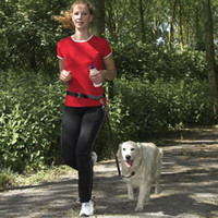 New Buddy System Hands Free Nylon Pet Dog Leash Lead Running...