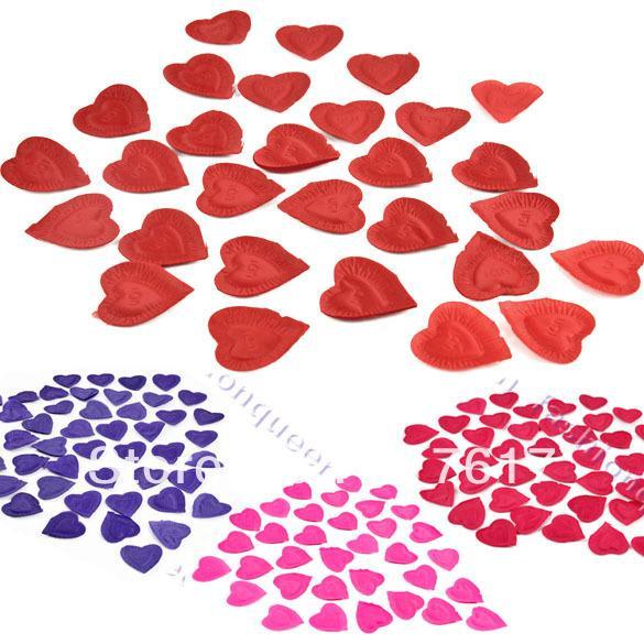 Best New Flower Decoration For Wedding Heart Design Silk