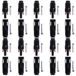 Wholesale 500 pairs TUV IP67 MC4 Solar cell connector DHL or Fedex