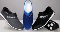 Wholesale Korean men s casual shoes skateboard shoes breathable mesh men s sports shoes