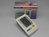Wholesale DHL Digital Arm type fully automatic blood pressure monitor irregular heart beat memories set