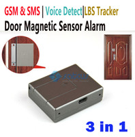 Wholesale GSM Access Alarm Voice Trigger Detect Home Security Wireless Door LBS Alarm System Magnetic Alarm mhz_V11
