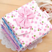 Card Holders Credit Card Polka Dot free shipping Girls must-have item sanitary Sanitary napkins package Cotton Fold bag Cute bow napkin bag napkin Pouch LLY638