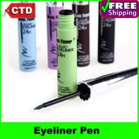642123 Yes Eyeliner Beauty Makeup Waterproof Anti-blooming Liquid Color Eye Liner Eyeliner Pen Pencil, Black Brown Blue Purple Green