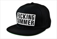 Snapbacks Men Spring & Fall Free shipping GD with the Korean version of the influx of men and women hip-hop FUCKING letters flat brimmed baseball cap