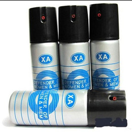 Wholesale Self Defense Pepper Spray Hot Protection Device Safety Security ml Silvery in stock now