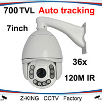 700TVL ptz auto tracking - sony TVL Auto Tracking PTZ Speed dome camera X zoom for outside