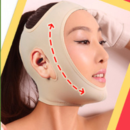 Wholesale Thin face mask slimming mask face care skin lift chin face v line lifting face lift bandage slim mask anti sag beauty facemask