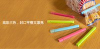 Wholesale 20set Colored Plastic Bag clip Plus size Sealer up for food flavoring trash pack Kitchen accessories Novelty household