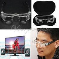 Wholesale 2014 New Max TV Television Magnifier Magnifying Maximize Your Screen Special Glasses X dandys