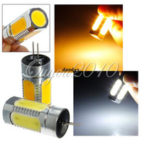 Wholesale 10pcs G4 W COB SMD LED Warm Day White Car RV Boat Bulb Light Lamp Bulb AC DC V dandys
