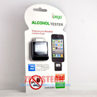 Wholesale Breath Alcohol Tester For iPhone iPod iPad With LCD Digital Display Unique Dectector For Police or Personal
