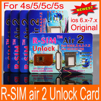 Unlocking Card air sprint - 100 Original R SIM Air RSIM air Newest Unlock for iOS6 X X of S C S Support American iOS7 Sprint AT amp T T mobile Cricket