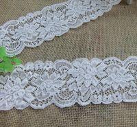 Wholesale Light Grey elastic stretch lace trim Headband DIY Craft Sewing cm
