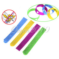 Polyester Mosquitoes Eco-Friendly 50pcs lot Adjustable Anti Mosquito Mozzie Pest Insect Bugs Repellent Wrist Hand Ring Bracelet Free Shipping Wholesale